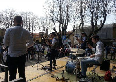 Puccio's Banda: evento in piazza con musica dal vivo e ballerini jazzroad a San Giovanni alla Vena (Vicopisano) 08 Aprile 2018