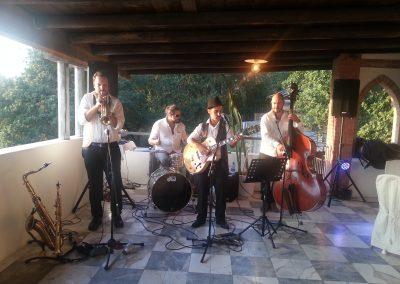 Puccio's Banda: aperitivo e cena con musica dal vivo al Matrimonio di Ambra e Matteo all'agriturismo Ippotour (Castelnuovo Magra) 8 Settembre 2018