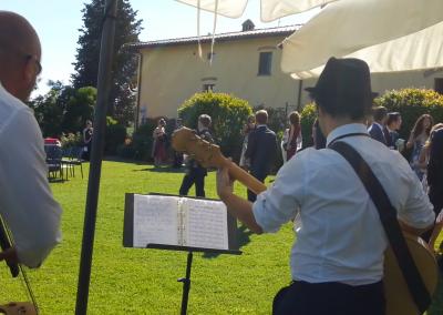 Puccio's Banda: aperitivo jazz Matrimonio al Borgo Divino (Montespertoli) 31 Maggio 2019