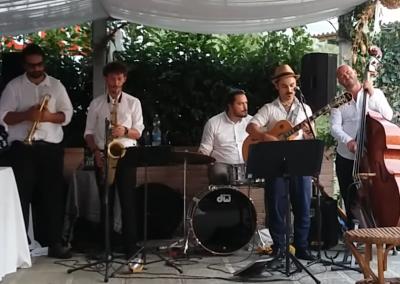 Puccio's Banda: Matrimonio a Massa e Cozzile di Claudio e Carolina