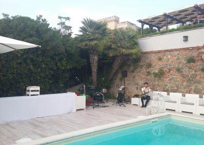 Puccio's Banda: aperitivo e dopo cena con musica dal vivo Matrimonio di Silvia e Francesco a Villa Parisi (Castiglioncello) 07 Giugno 2019
