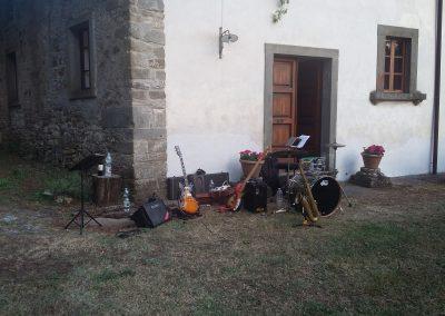Puccio's Banda: aperitivo con musica dal vivo al Matrimonio di Anna & Lorenzo al Convento del Carmine (Fivizzano) 29 Giugno 2019