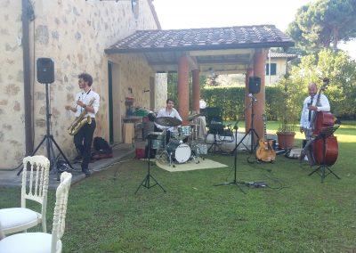 Puccio's Banda: musica dal vivo al Matrimonio di Simone e Giulia in Villa Privata (Marina di Pietrasanta) 13 Luglio 2019