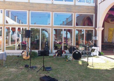 """Puccio's Banda: musica dal vivo al Matrimonio di Chiara e Andrea alla Cantina """"La Spinetta Casanova"""" (Terricciola) 10 Agosto 2019"""
