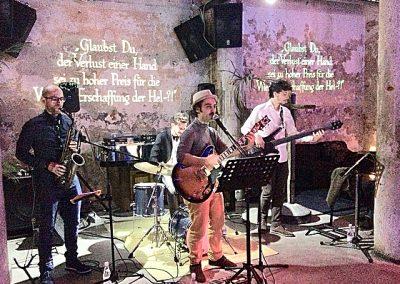 Puccio's Banda: serata con musica dal vivo al Cobra Cocktail Club (Pietrasanta) 22 Marzo 2018