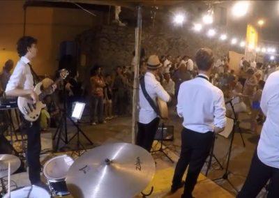 Puccio's Banda: festa di matrimonio con musica dal vivo in piazza (Ortonovo) 27 Luglio 2018
