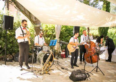 Puccio's Banda: aperitivo con musica dal vivo al Matrimonio di Christian e Elizabeth al Convento di Montepozzali (Massa Marittima) 23 Settembre 2018