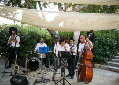 Puccio's Banda con Daila: aperitivo con musica dal vivo al Matrimonio di Christian e Elizabeth al Convento di Montepozzali (Massa Marittima) 23 Settembre 2018