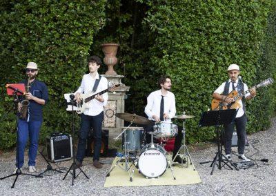 Puccio's Banda: aperitivo con musica dal vivo al Matrimonio di Lucia a Villa Grabau (Lucca) 23 Giugno 2018