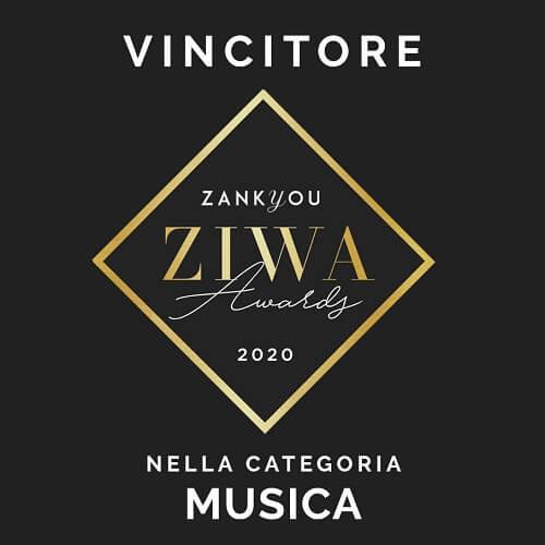ZIWA zankyou wedding awards 2020 Puccio's Banda vincitore miglior gruppo di musica