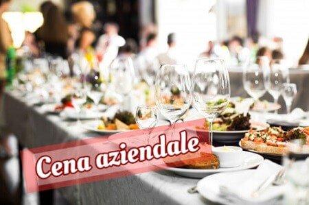 cena aziendale evento privato musica dal vivo puccio's banda service audio e live music