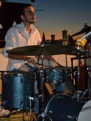 Gabriele Casini batterista Puccio's Banda