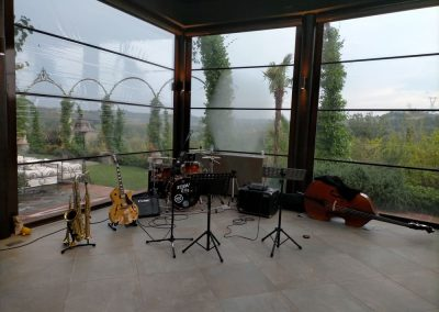 Puccio's Banda musica dal vivo matrimonio Tenuta Corbinaia jazz swing aperitivo musica soft lounge