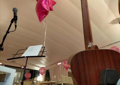 Puccio's Banda musica dal vivo compleanno festa privata al ristorante La Pia di Viareggio