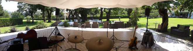 Puccio's Banda musica del vivo aperitivo jazz swing matrimonio Ca' Del Moro